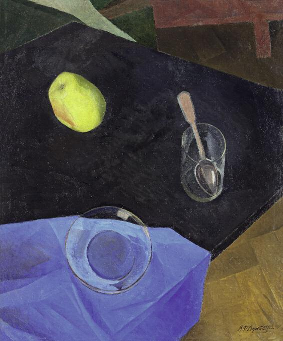 Still Life. 1923. Oil on canvas. 55.5 x 45.5. Private collection. St Petersburg