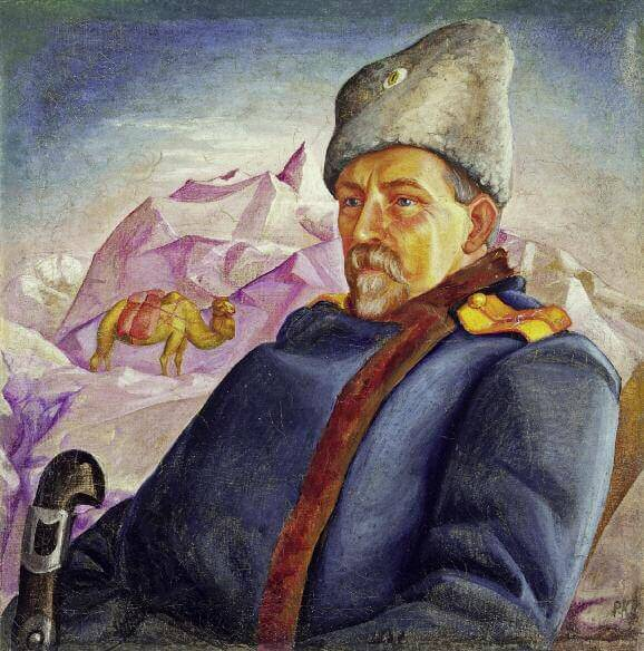 Портрет А. А. Шибинского. 1918. Холст, масло. 74,5 х 73. Частное собрание. Санкт-Петербург