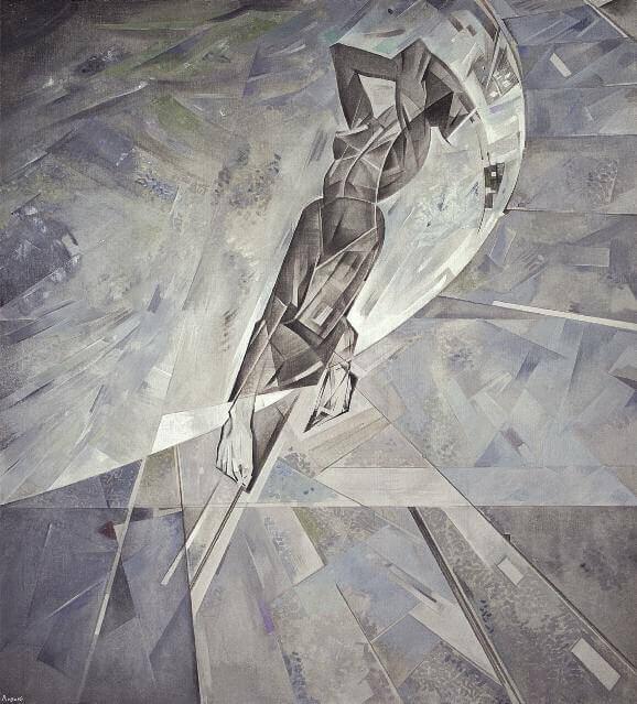 Композиция (Камни). 1930. Холст, масло. 151 x 138. ГРМ