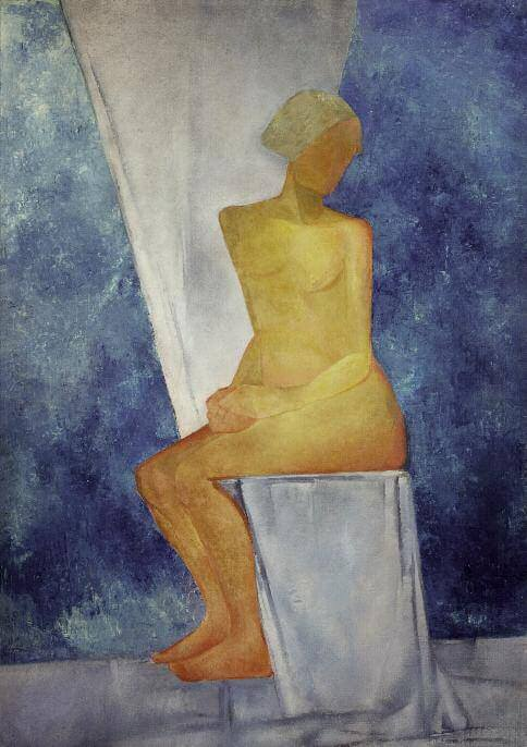Nude. Between 1922 and 1925. Oil on canvas. 187 x 132. Russian Museum