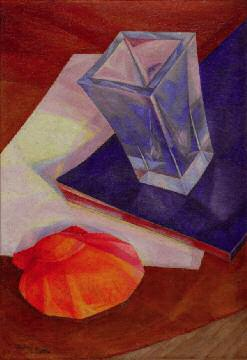 Still Life with Shell and Vase. 1921. Oil on canvas. 53.5 x 36. Collection of Timur Khairutdinov. Moscow