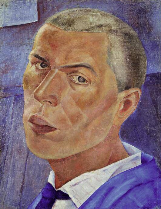Self-Portrait. 1920s. Oil on canvas. 68 x 56. Russian Museum